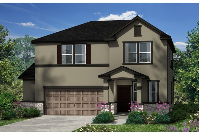 New Homes in Kyle, TX - Plan E-2412 K