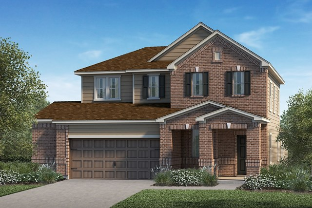 New Homes in Kyle, TX - Plan E-2516 I