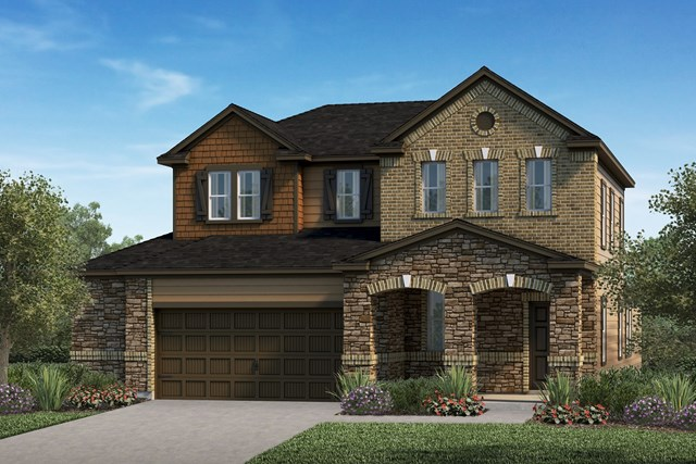 New Homes in Kyle, TX - Plan E-2516 J