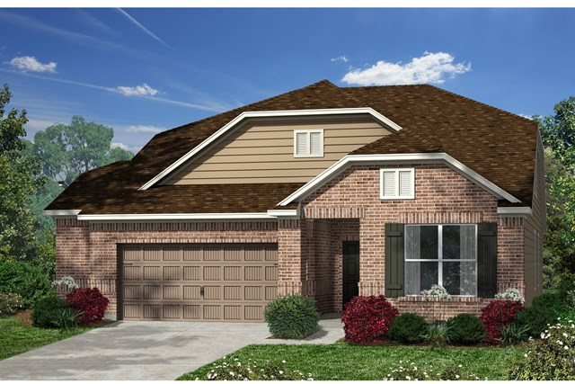 New Homes in Kyle, TX - Plan Plan A-2655 B