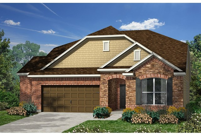 New Homes in Kyle, TX - Plan Plan A-2655 C