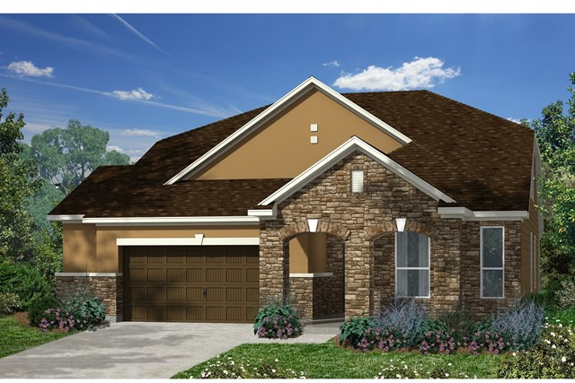 New Homes in Kyle, TX - Plan Plan A-2655 D