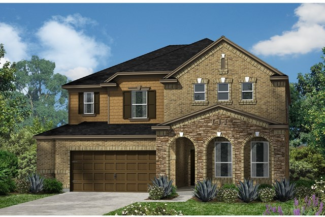 New Homes in Kyle, TX - Plan A-2881 C