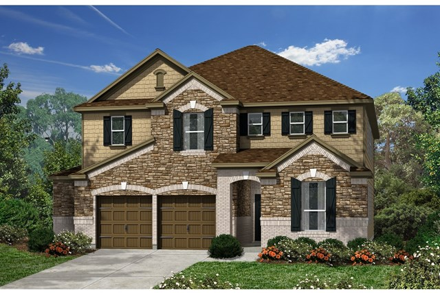 New Homes in Kyle, TX - Plan A-3475 C