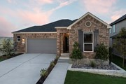 New Homes in Kyle, TX - Plan 1591 Modeled