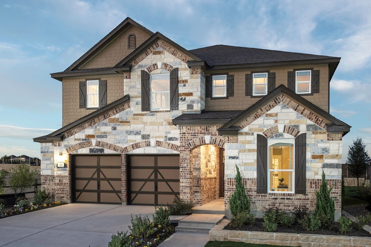 New Homes in Kyle, TX - Sunset Hills Plan A-3475