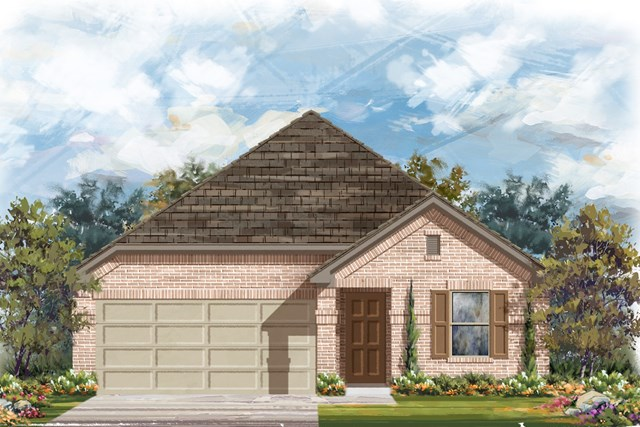 New Homes in Austin, TX - Plan 1647 H