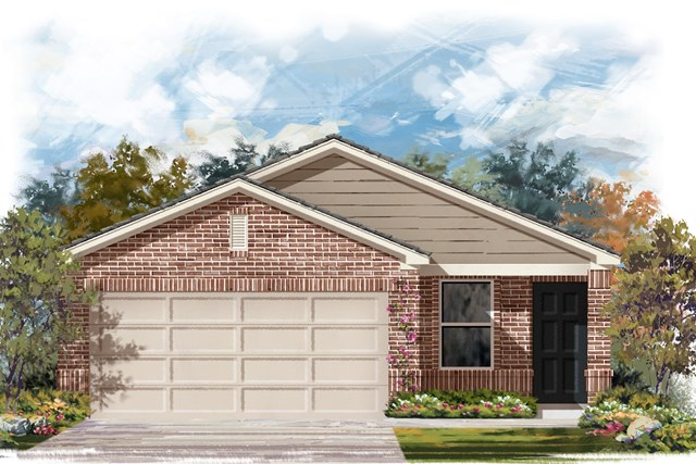 New Homes in Austin, TX - Plan 1353 I