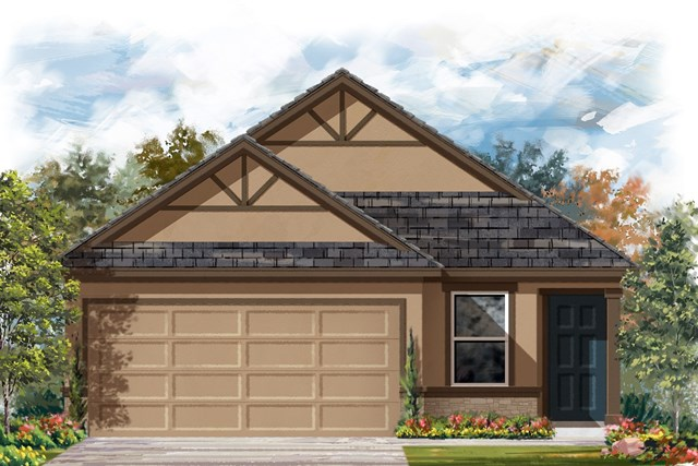 New Homes in Austin, TX - Plan 1353 J