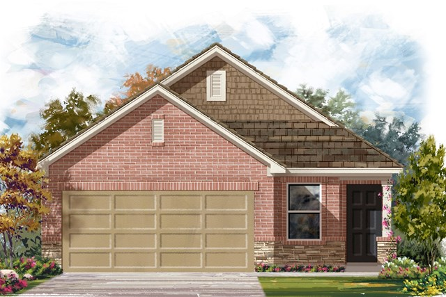 New Homes in Austin, TX - Plan 1353 K