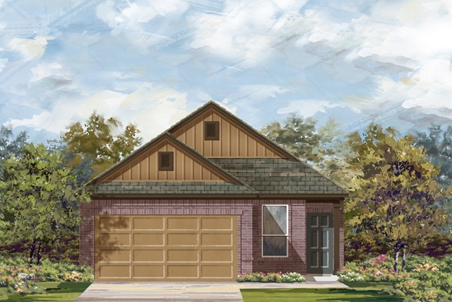 New Homes in Austin, TX - Plan 1353 L