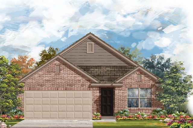 New Homes in Austin, TX - Plan 1647 I