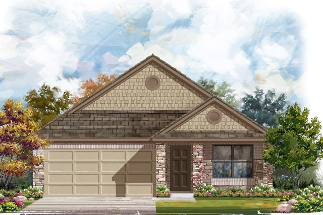New Homes in Austin, TX - Plan 1647 J