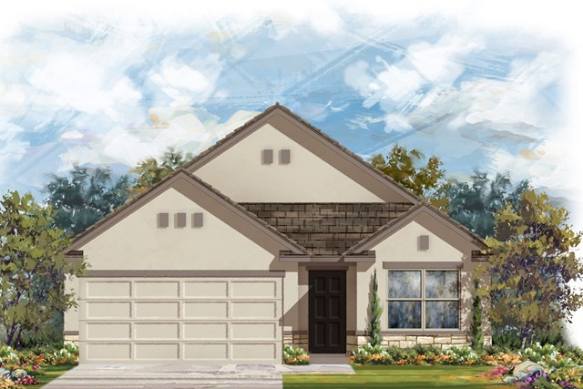 New Homes in Austin, TX - Plan 1647 K
