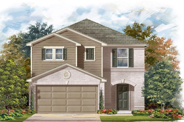 New Homes in Austin, TX - Plan 2038 I