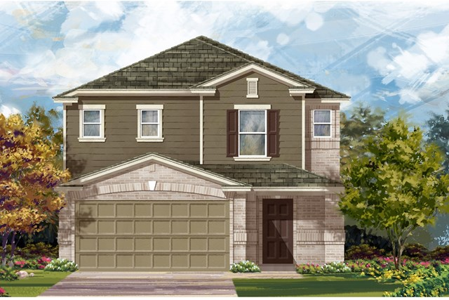 New Homes in Austin, TX - Plan 2495 I