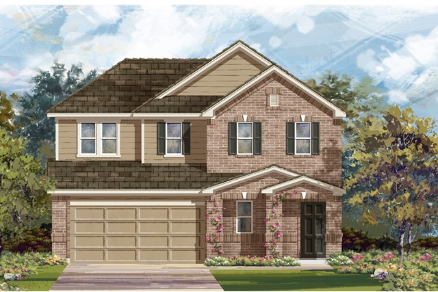 New Homes in Austin, TX - Plan 2516 I