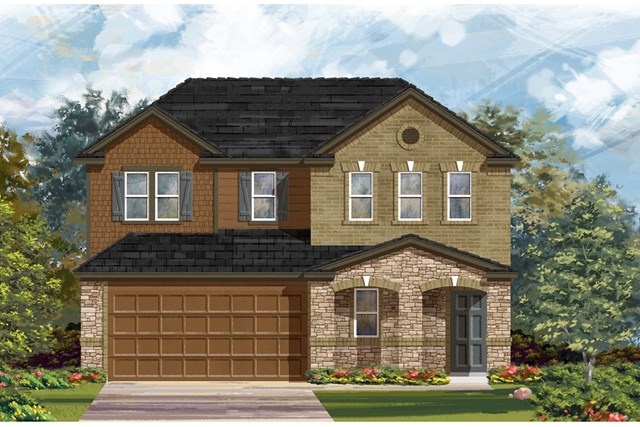 New Homes in Austin, TX - Plan 2516 J