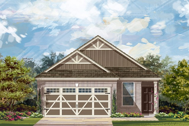 New Homes in Hutto, TX - Plan F-1585 L