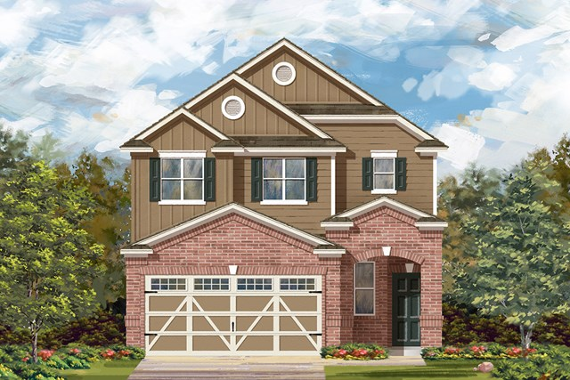 New Homes in Hutto, TX - Plan F-1601 L