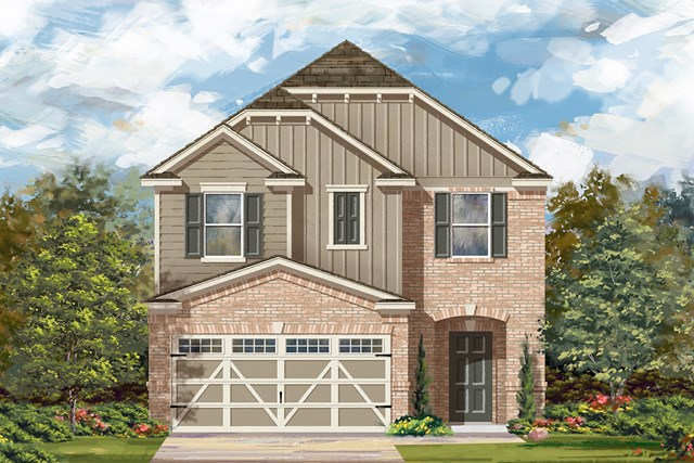 New Homes in Hutto, TX - Plan F-1771 L