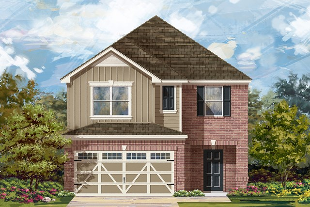 New Homes in Hutto, TX - Plan F-2038 L