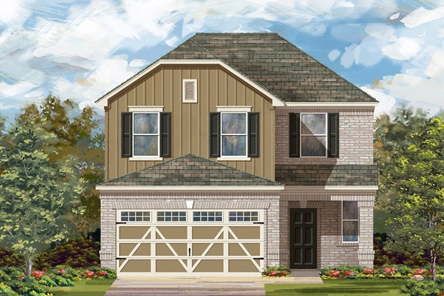 New Homes in Hutto, TX - Plan F-2239 L