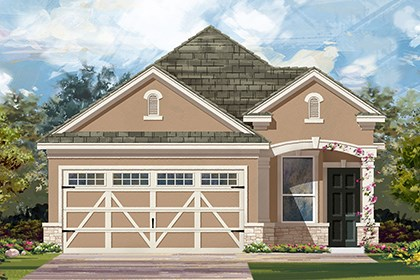 New Homes in Hutto, TX - Plan F-1340 J