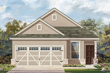 New Homes in Hutto, TX - Plan F-1353 J