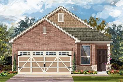 New Homes in Hutto, TX - Plan F-1353 K