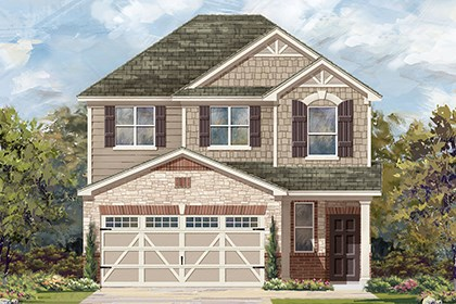 New Homes in Hutto, TX - Plan F-1601 K