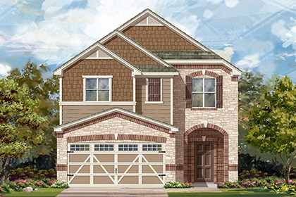 New Homes in Hutto, TX - Plan F-1771 K