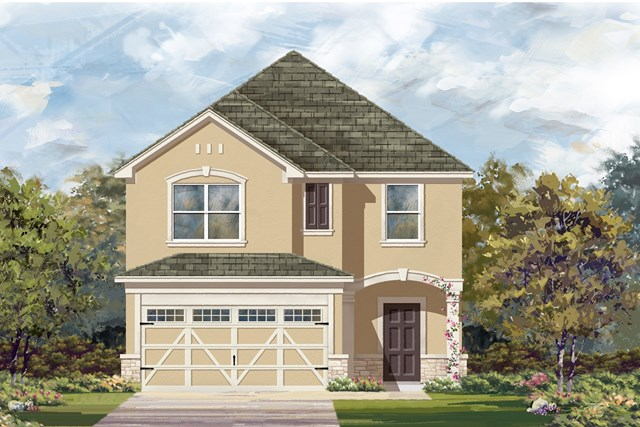 New Homes in Hutto, TX - Plan F-2038 J
