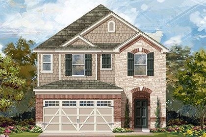 New Homes in Hutto, TX - Plan F-2038 K