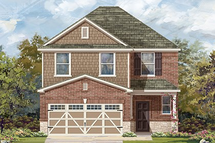 New Homes in Hutto, TX - Plan F-2239 K