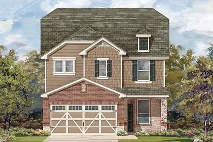 New Homes in Hutto, TX - Plan F-2411 K