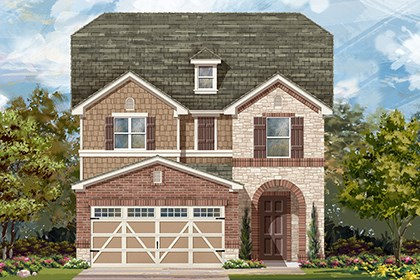 New Homes in Hutto, TX - Plan F-2495 K