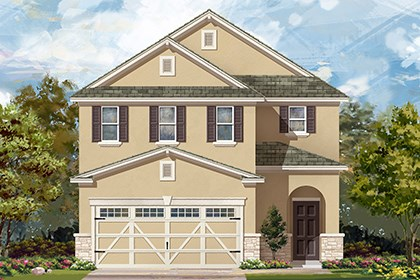 New Homes in Hutto, TX - Plan F-2604 J