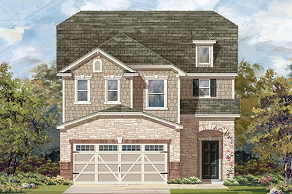 New Homes in Hutto, TX - Plan F-2604 K