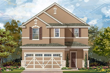 New Homes in Hutto, TX - Plan F-2708 J