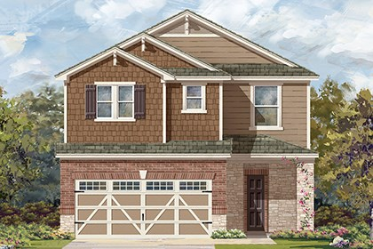 New Homes in Hutto, TX - Plan F-2708 K