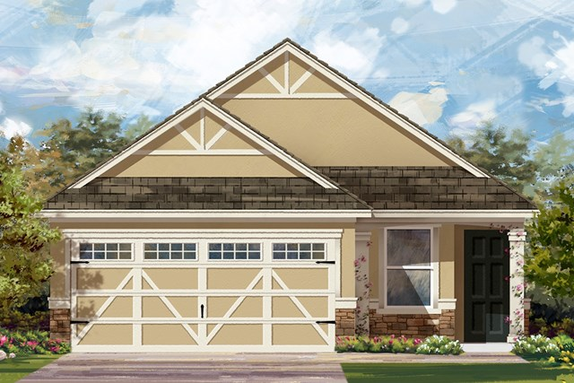New Homes in Hutto, TX - Plan F-1585 J