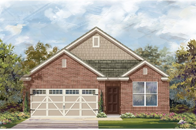New Homes in Hutto, TX - Plan E-1647 I