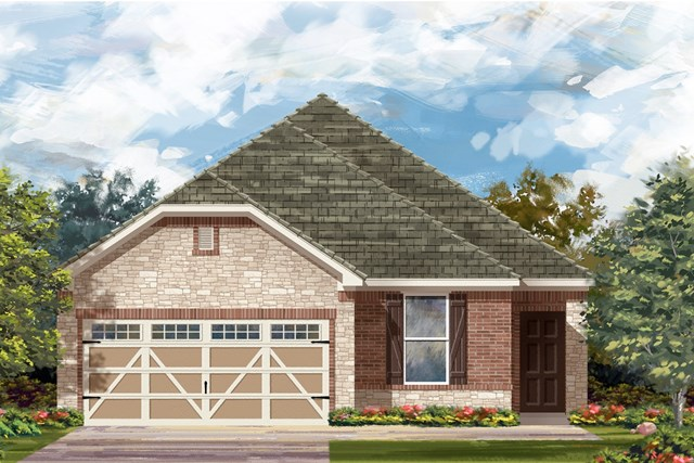 New Homes in Hutto, TX - Plan E-1694 J