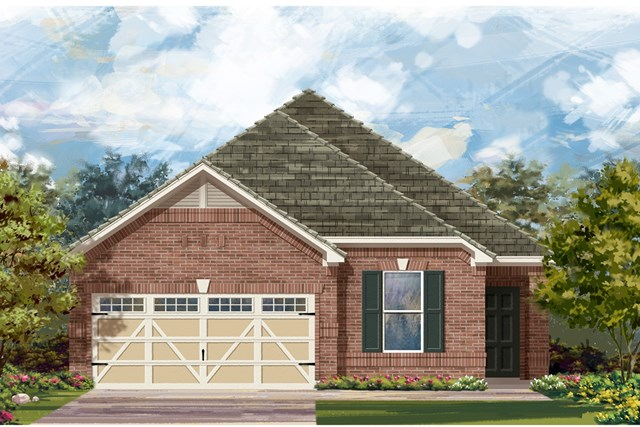New Homes in Hutto, TX - Plan E-1892 H