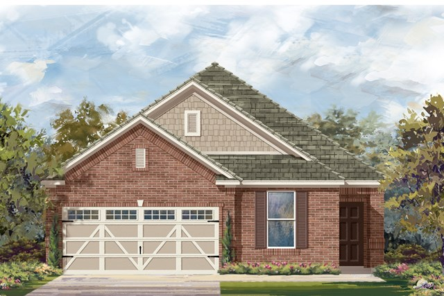 New Homes in Hutto, TX - Plan E-1892 I