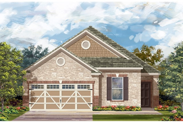 New Homes in Hutto, TX - Plan E-1892 J