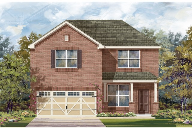 New Homes in Hutto, TX - Plan E-2177 I