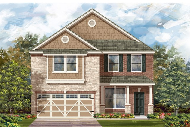 New Homes in Hutto, TX - Plan E-2177 J