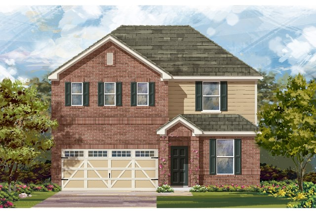 New Homes in Hutto, TX - Plan E-2403 H